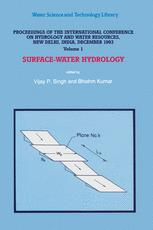 Proceedings of the International Conference on Hydrology and Water Resources, New Delhi, India, December 1993