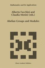 Abelian Groups and Modules