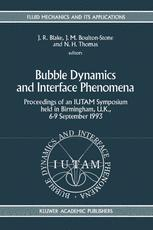 Bubble Dynamics and Interface Phenomena