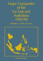 Major Companies of The Far East and Australasia 1993/94