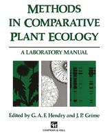Methods in Comparative Plant Ecology