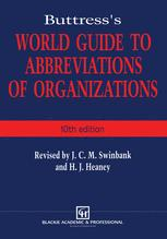 Buttress's World Guide to Abbreviations of Organizations