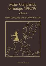 Major Companies of Europe 1992/93