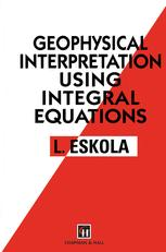 Geophysical Interpretation using Integral Equations