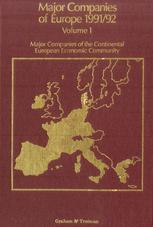 Major Companies of Europe 1991/1992