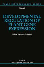 Developmental Regulation of Plant Gene Expression