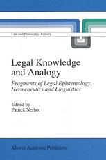 Legal Knowledge and Analogy