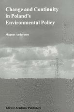 Change and Continuity in Poland's Environmental Policy
