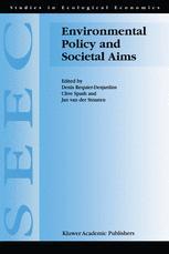 Environmental Policy and Societal Aims