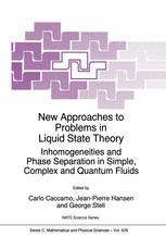 New Approaches to Problems in Liquid State Theory