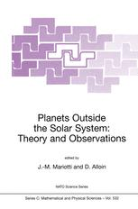 Planets Outside the Solar System: Theory and Observations