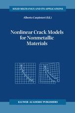 Nonlinear Crack Models for Nonmetallic Materials