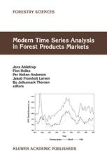 Modern Time Series Analysis in Forest Products Markets