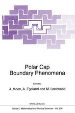 Polar Cap Boundary Phenomena