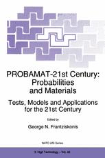 PROBAMAT-21st Century: Probabilities and Materials