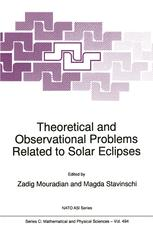 Theoretical and Observational Problems Related to Solar Eclipses