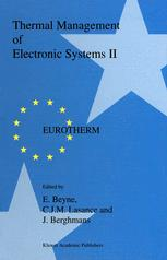 Thermal Management of Electronic Systems II