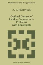 Optimal Control of Random Sequences in Problems with Constraints