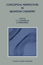 Conceptual Perspectives in Quantum Chemistry