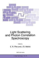 Light Scattering and Photon Correlation Spectroscopy