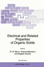 Electrical and Related Properties of Organic Solids