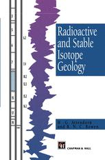 Radioactive and Stable Isotope Geology