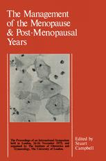 The Management of the Menopause & Post-Menopausal Years