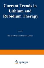 Current Trends in Lithium and Rubidium Therapy