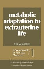 Metabolic Adaptation to Extrauterine Life
