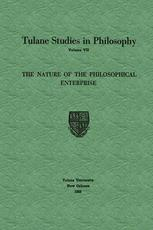 The Nature of the Philosophical Enterprise