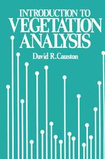 An Introduction to Vegetation Analysis