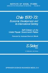 Chile 1970–73: Economic Development and its International Setting