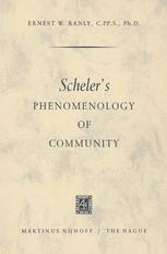 Scheler's Phenomenology of Community