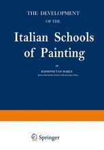 The Development of the Italian Schools of Painting