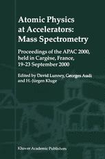 Atomic Physics at Accelerators: Mass Spectrometry