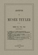 Archives du Musée Teyler