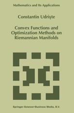 Convex Functions and Optimization Methods on Riemannian Manifolds