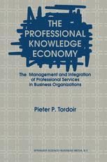 The Professional Knowledge Economy