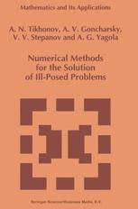 Numerical Methods for the Solution of Ill-Posed Problems