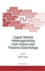 Upper Mantle Heterogeneities from Active and Passive Seismology