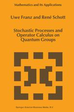 Stochastic Processes and Operator Calculus on Quantum Groups