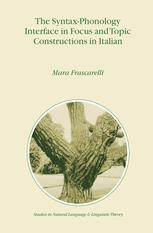 The Syntax-Phonology Interface in Focus and Topic Constructions in Italian