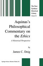 Aquinas's Philosophical Commentary on the Ethics