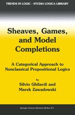 Sheaves, Games, and Model Completions