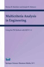 Multicriteria Analysis in Engineering