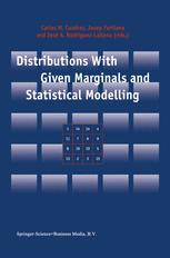 Distributions With Given Marginals and Statistical Modelling