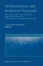 Sedimentation and Sediment Transport