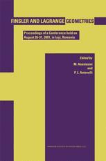 Finsler and Lagrange Geometries