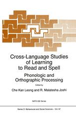 Cross-Language Studies of Learning to Read and Spell