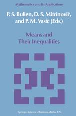 Means and Their Inequalities
